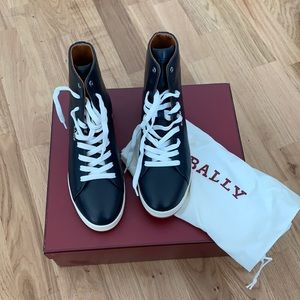 New Bally leather Jamila high top sneakers
